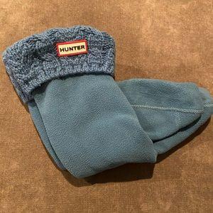 Hunter Blue Socks for Hunter Long Boots✨